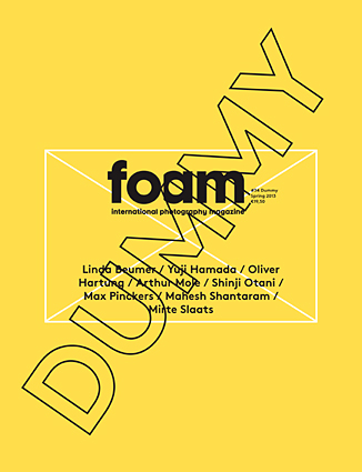 Cover Foam Magazine #34 Dummy